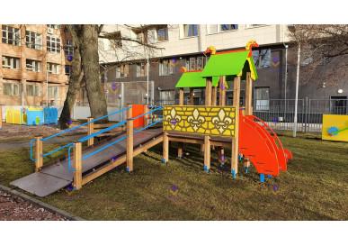 Площадки для детей с ограниченными возможностями.