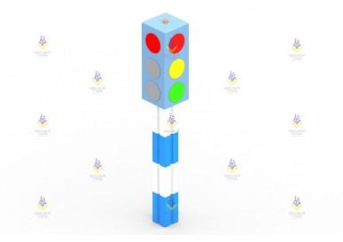 Игровой элемент «Светофор» стационарный