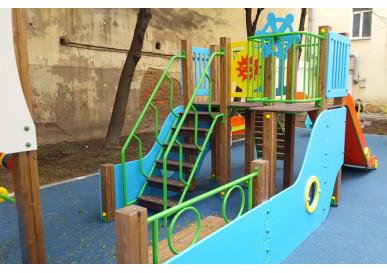 Новый дизайн в оформлении детских развивающих комплексов
