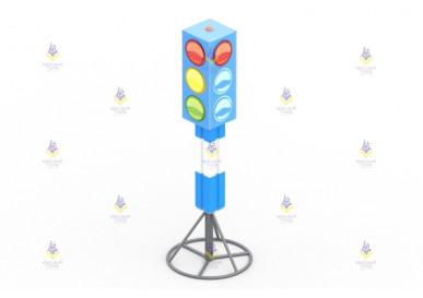 Игровой элемент «Светофор» переносной