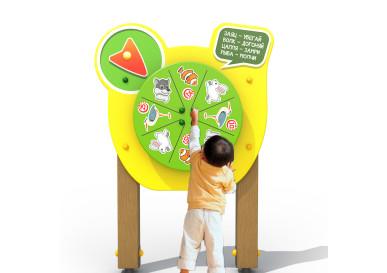 """Развивающие элементы для детской площадки """"Умный Малыш"""""""