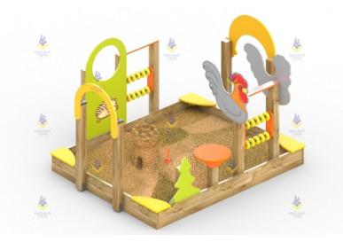 Песочный дворик «Теремок»