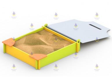 Песочница «Ларец» (с крышкой)