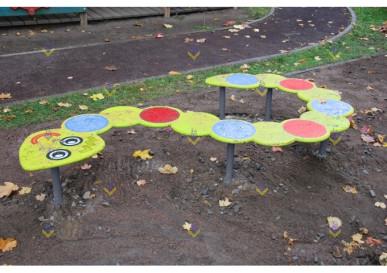 бум бревно веселый змей для детской площадки