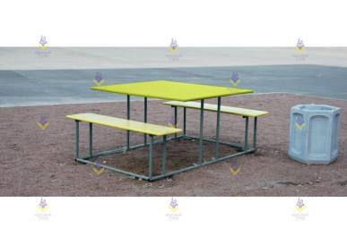 Стол со скамьями «Пикник»