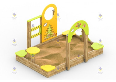 Песочный дворик «Лесная полянка»