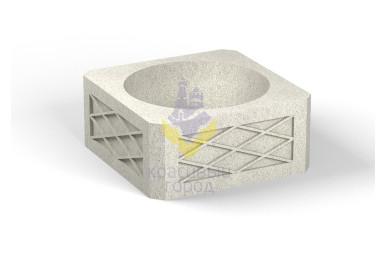 Вазон бетонный тип-4