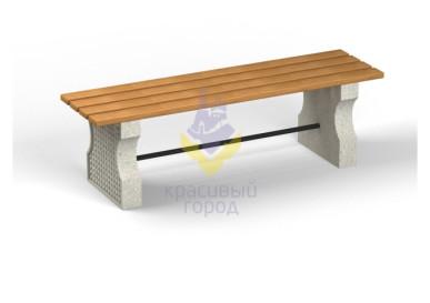 Скамейка бетонная тип-2