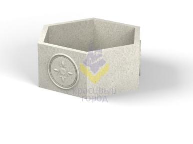 Вазон бетонный тип-3