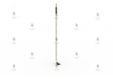 Канат для лазания L-3.0 м, Ø30 мм в сборе