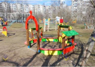 Площадка в Детский Сад №7. Приморский район