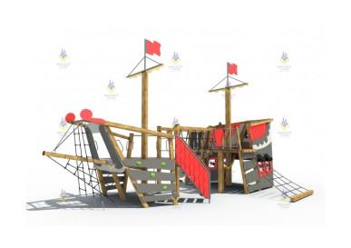 Игровые комплексы на детской площадке