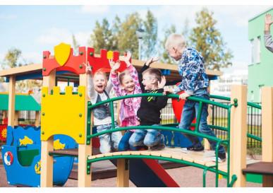 Игровые элементы. Зачем они нужны на детской площадке?