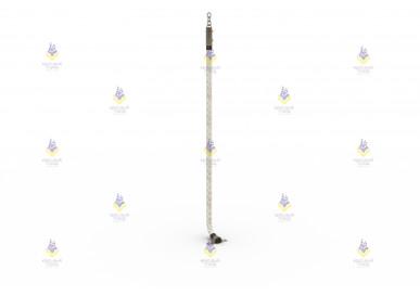 Канат для лазания L-2,3 м, Ø30 мм в сборе
