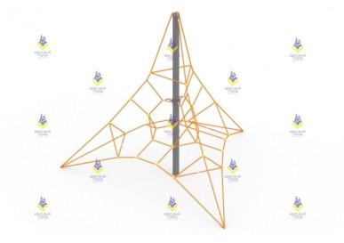 Сетка пирамида 4м