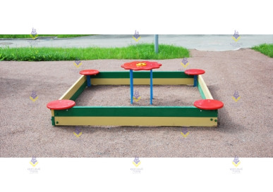 Стол для песочницы ромашка