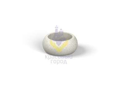 Вазон бетонный тип-1