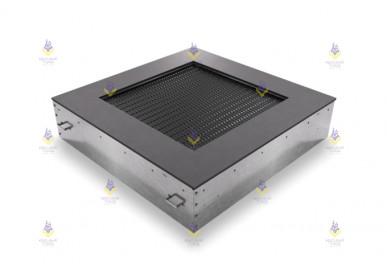 Батут квадрат встраиваемый 160  (прыж. пов. 100х100) чёрный