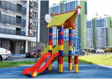 игровой комплекс русская сказка для детской площадки