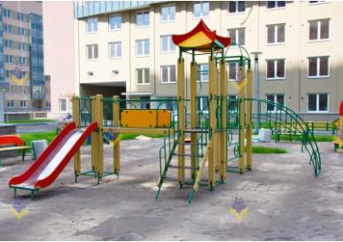 """Детская площадка в ЖК """"Балтийская жемчужина"""""""