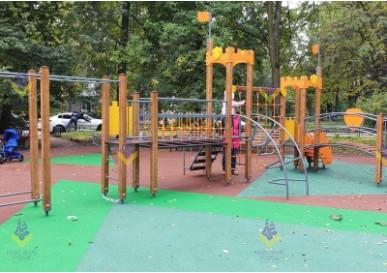 Детская площадка с металлофоном в г. Санкт-Петербург