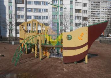 игровой комплекс фрегат детский