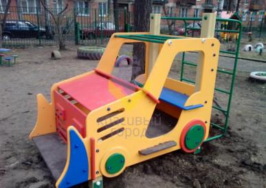 ик трактор для детской площадки