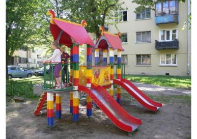 уличный игровой комплекс русская сказка