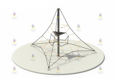 Пирамида 4м (чёрный+бежевый)