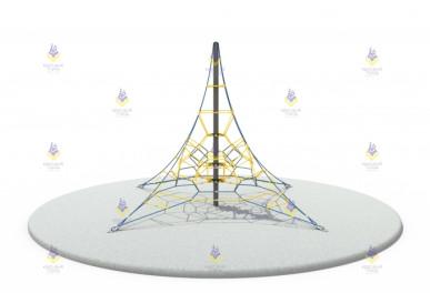 Пирамида 6м (сине-жёлтая)