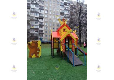 детский игровой комплекс теремок