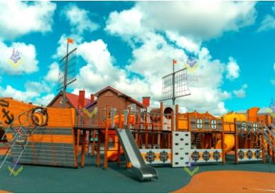 Невероятная детская площадка в Малое Васильково, Калининградская область.