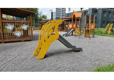 горка высотой 900 для детской площадки