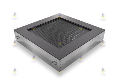 Квадрат батут для детской площадки 180  (прыж. пов. 121х121) чёрный