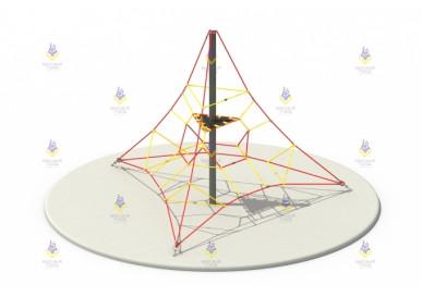 Пирамида 4м (красный+желтый)