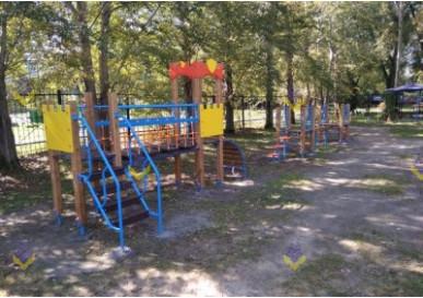 Детская площадка в Екатеринбурге
