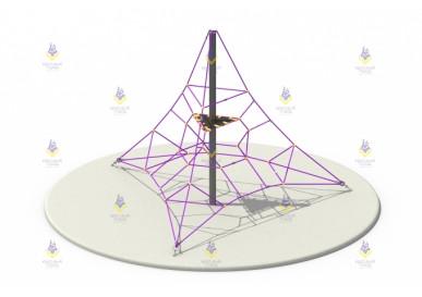 Пирамида 4м (фиолетовая)