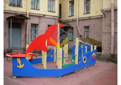 детский игровой комплекс песочница