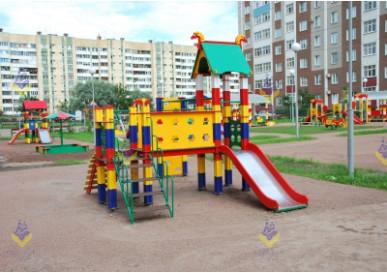 Детская площадка на Дунайском проспекте